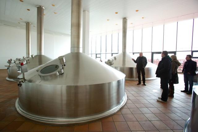 Курсы любителей пива в пивоварне Крушовице