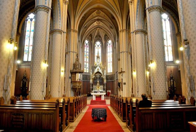 Интерьер Костёла святой Людмилы