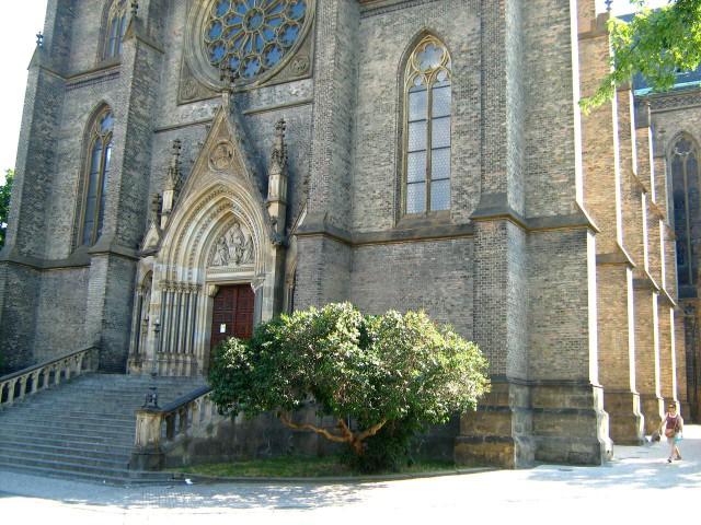 Храм святой Людмилы (Kostel svaté Ludmily)