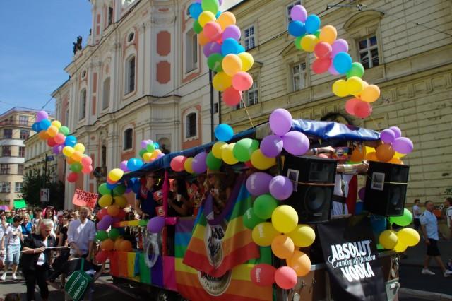 Парад гордости в Праге