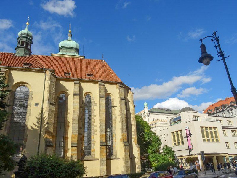 Костел Святого Духа (Kostel Svatého Ducha)