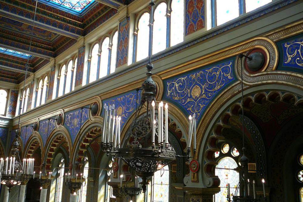 Интерьер синагоги