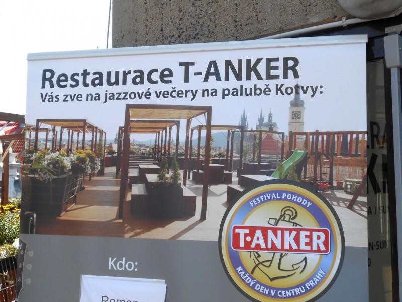 Рекламный плакат Террасы T-Anker