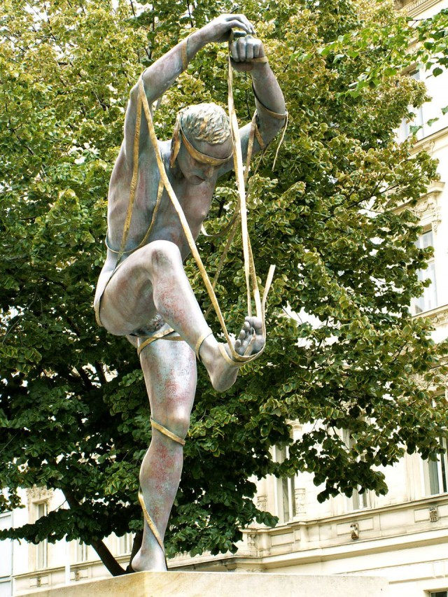 Cкульптура – аллегория реки Нил в Египте