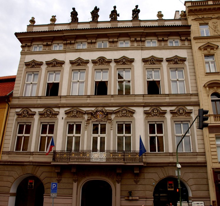 Кайзерштейнский дворец (Kaiserštejnský palác)