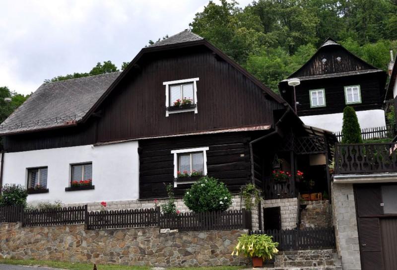 Рубленные дома, Штрамберк