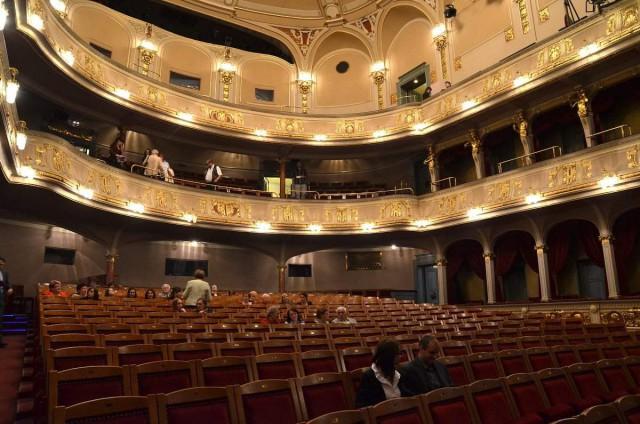 Зрительный зал  Театра на Виноградах