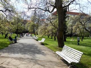 Самый старый парк Праги – Вояновы сады