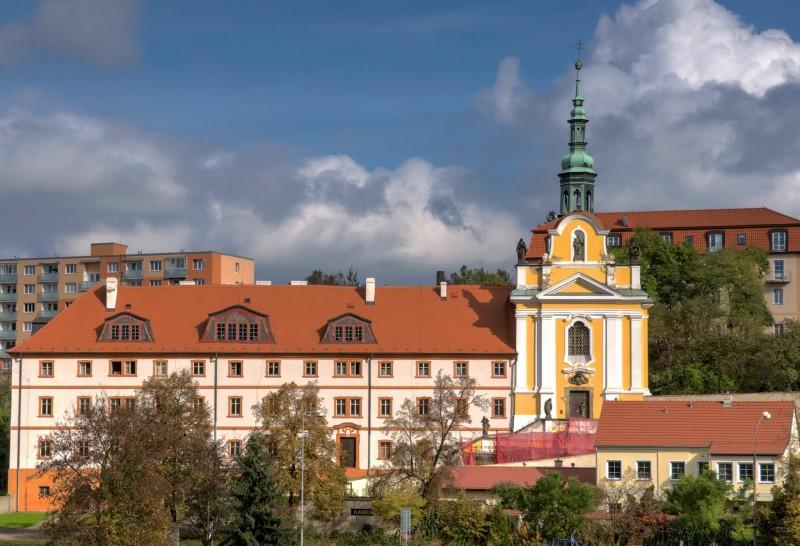 Елизаветинский монастырь с костелом