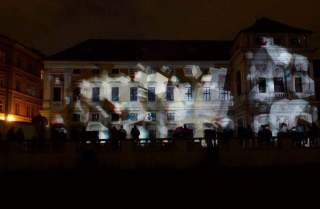 3D проекция на Михнов дворец (Michnův palác)