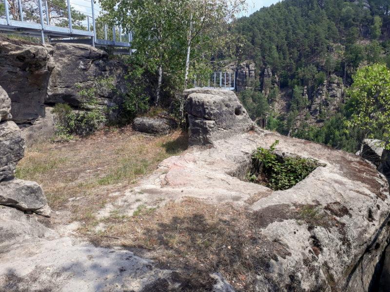 Замок обустроен для туристов