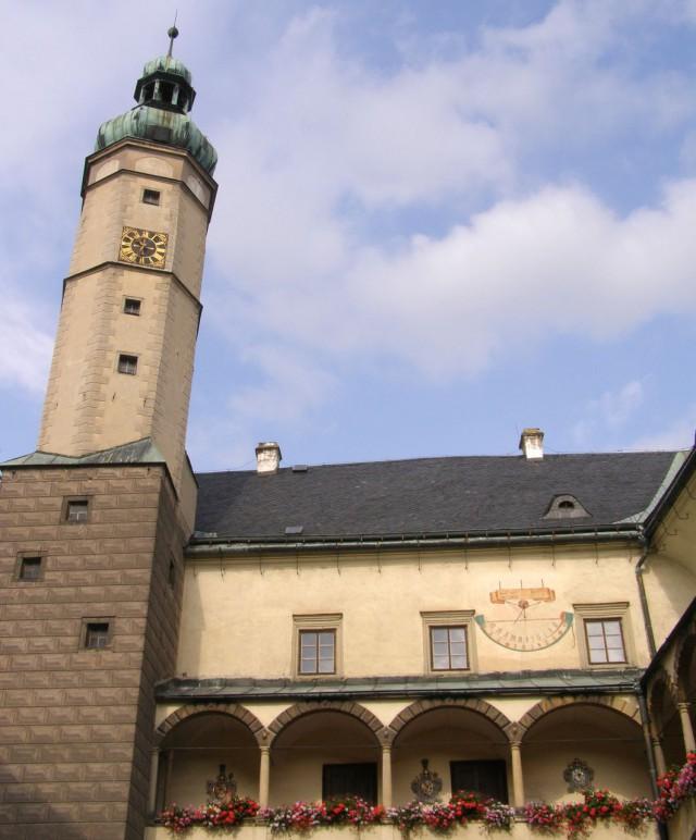 Замок Брунтал (Zámek Bruntál)