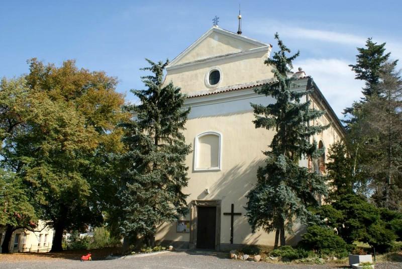 Костëл св. Ильи (Kostel sv. Jiljí)