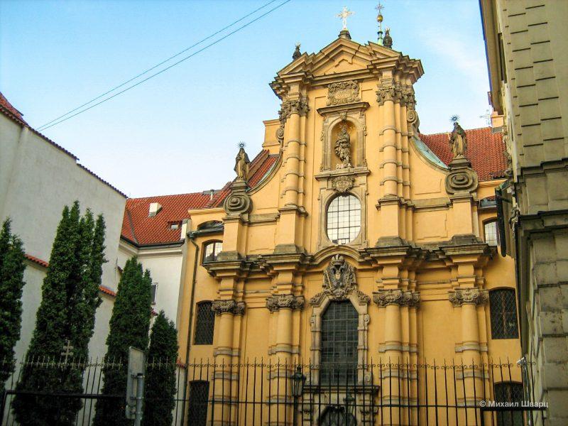 Монастырский костел св. Йозефа (Kostel svatého Josefa)