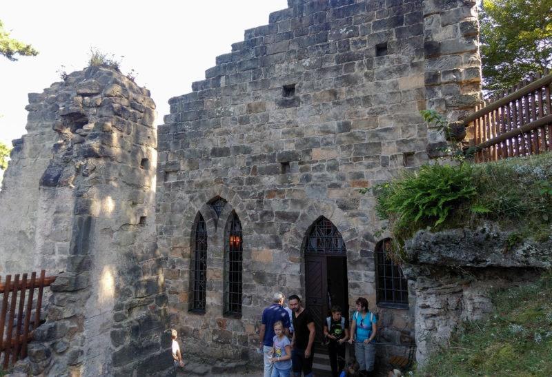 Крепость Валдштейн