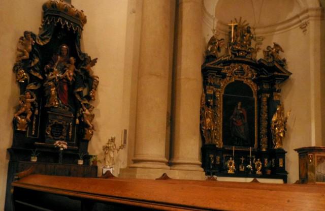 Интерьер церкви св. Йозефа (Kostel sv. Josefa)
