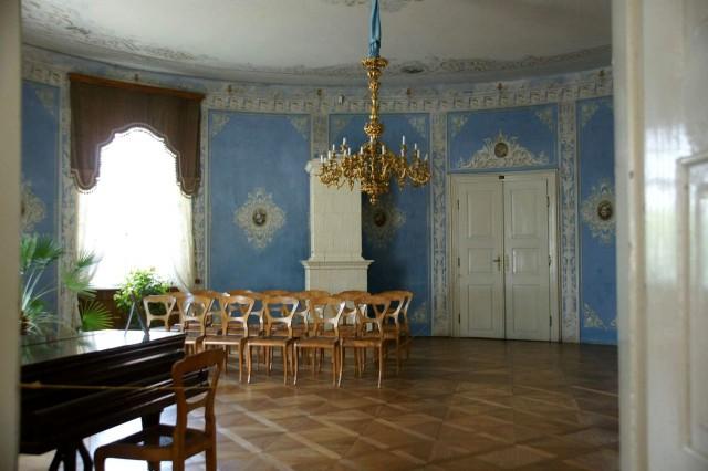 Интерьер замка Янски-Врх