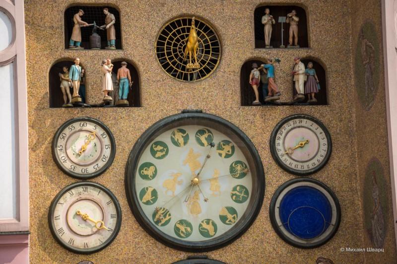 Астрономические часы на ратуше