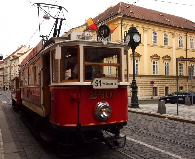 Исторический трамвай № 91 (Nostalgická tramvajová linka)