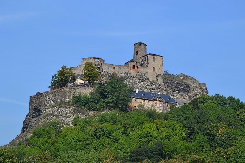 Руины крепости Стршеков