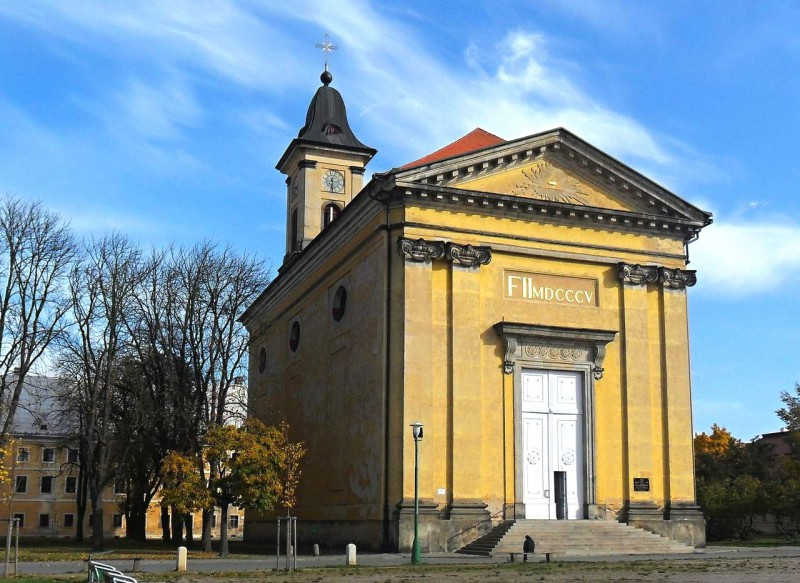 Бывшая гарнизонная церковь Успения Девы Марии (1805-1810 гг.) (Bývalý posádkový kostel Nanebevzetí P. Marie)