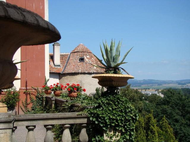 Башня, оставшаяся от готической крепости