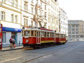 «Ностальгическое путешествие» по Праге на исторических трамваях