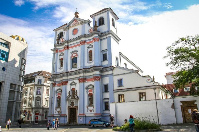 Доминиканский монастырь с костелом св. Войцеха