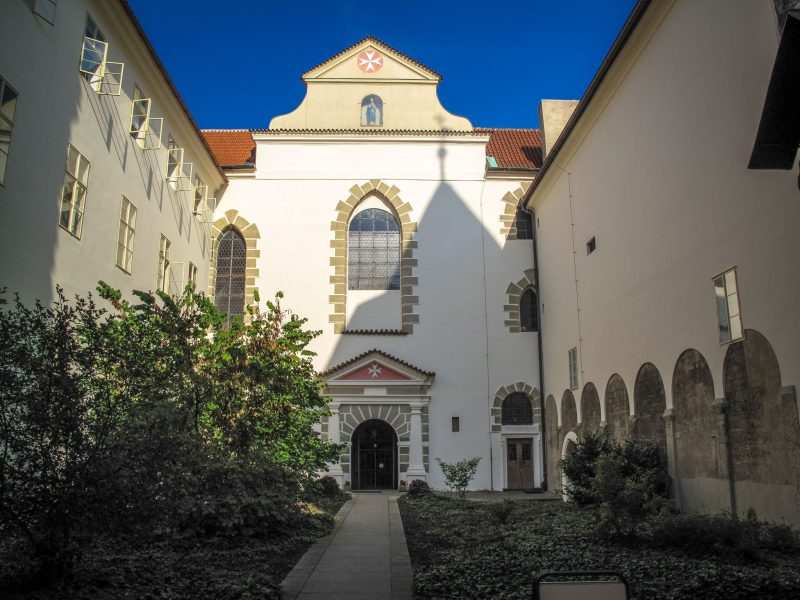 Церковь Девы Марии под цепью (Kostel Panny Marie pod řetězem)