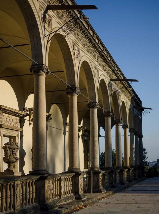 Летний дворец Королевы Анны (Letohrádek královny Anny)