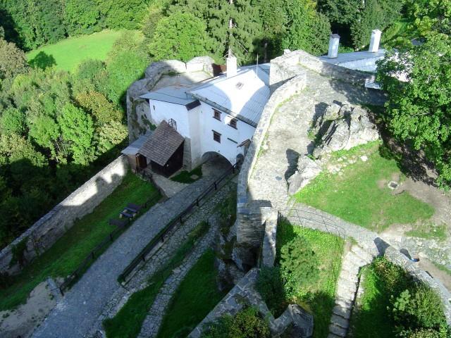 Замок Совинец (Hrad Sovinec)
