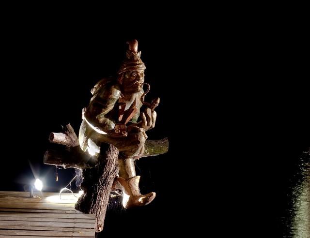 Скульптура Кабурека (Vodník Kabourek)
