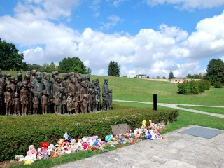 Мемориал в Лидице