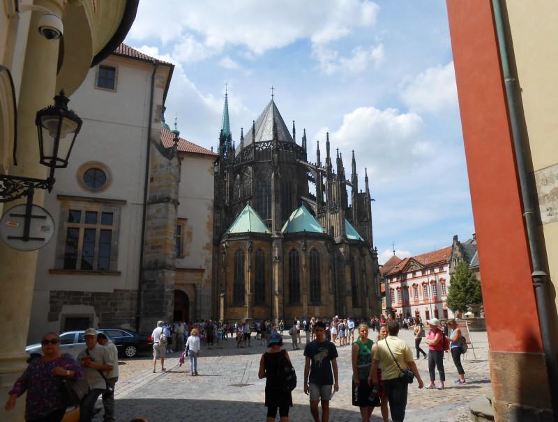 Собор Святого Вита с востока
