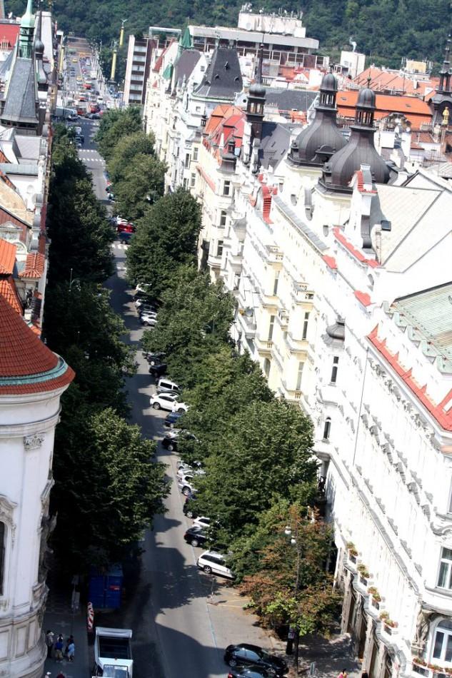 Улица Парижская в Праге (Pařížská ulice)