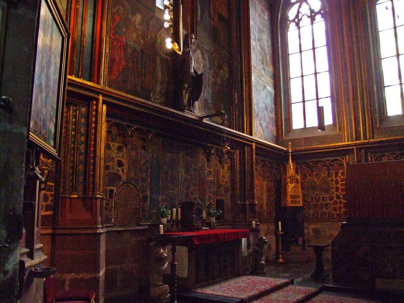 Часовня св. Вацлава (Svatováclavská kaple)