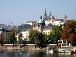 Дом Правительства Чешской республики – бывшая Стракова академия