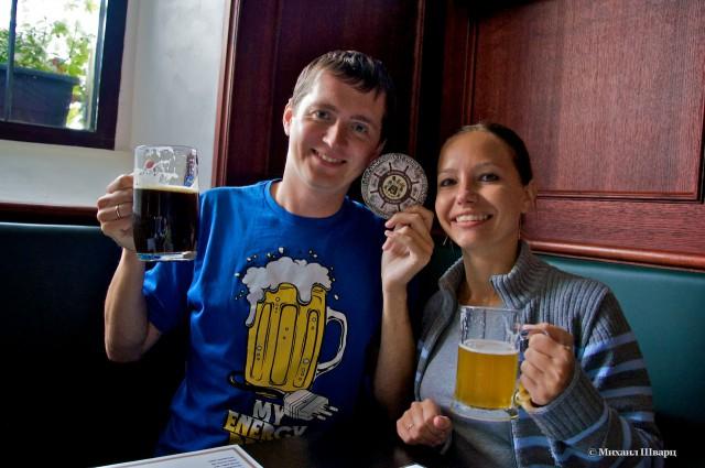 Дегустируем местное пиво