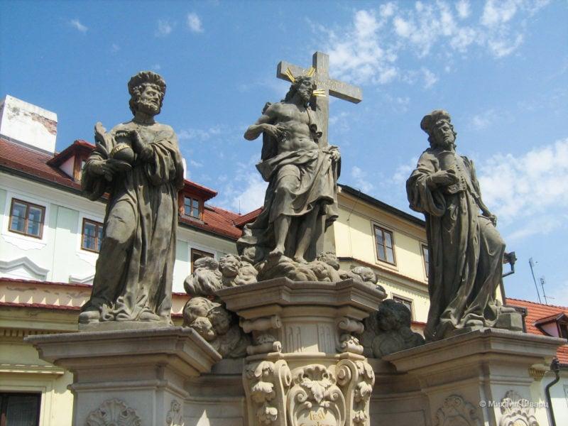 Иисус Христос и святые Косма и Дамиан