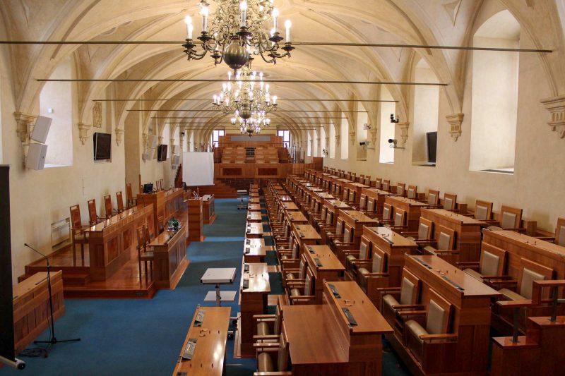 Зал заседаний Сената