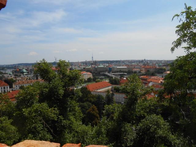 Вид Праги со Старой замковой лестницы