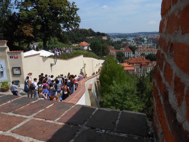 Старая замковая лестница (Staré zámecké schody)