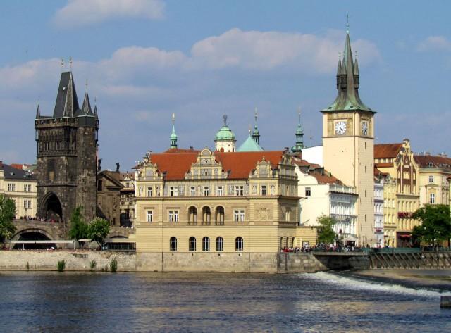 Староместская водонапорная башня (Staroměstská vodárenská věž)