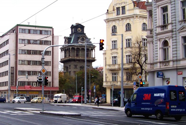 Летенская водонапорная башня (Letenská vodárna)
