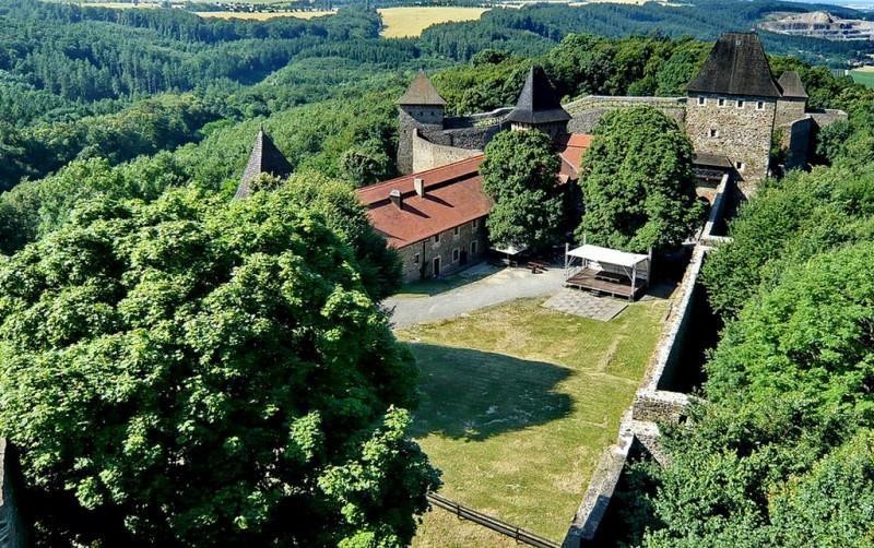 Замок Хелфштын (Helfštýn)