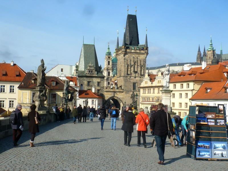 Малостранские мостовые башни (Malostranská mostecká věž)
