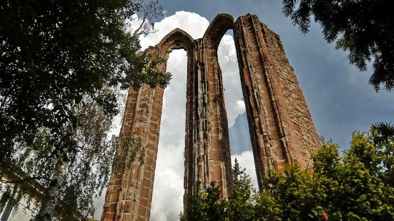 Руины монастыря миноритов
