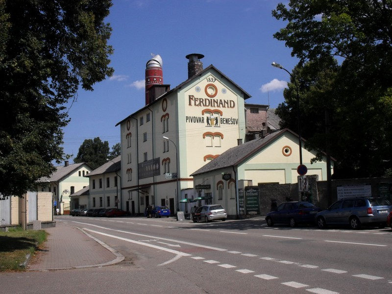 Пивовар Фердинанд в Бенешове