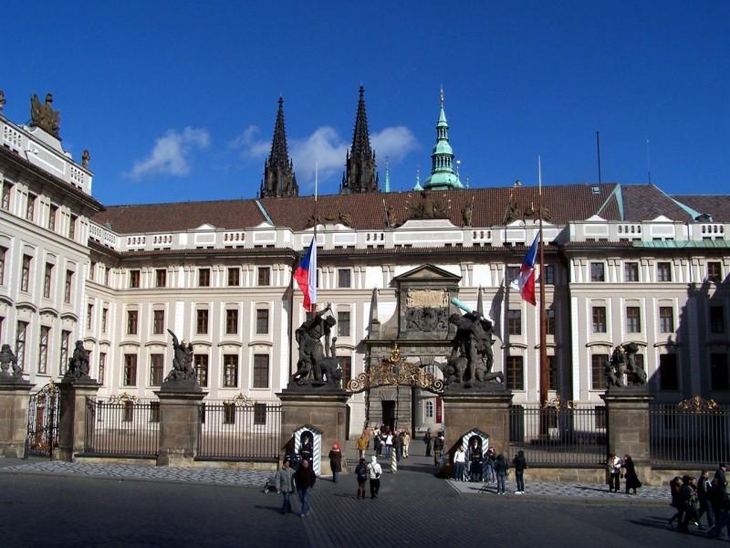 Первый двор Пражского града