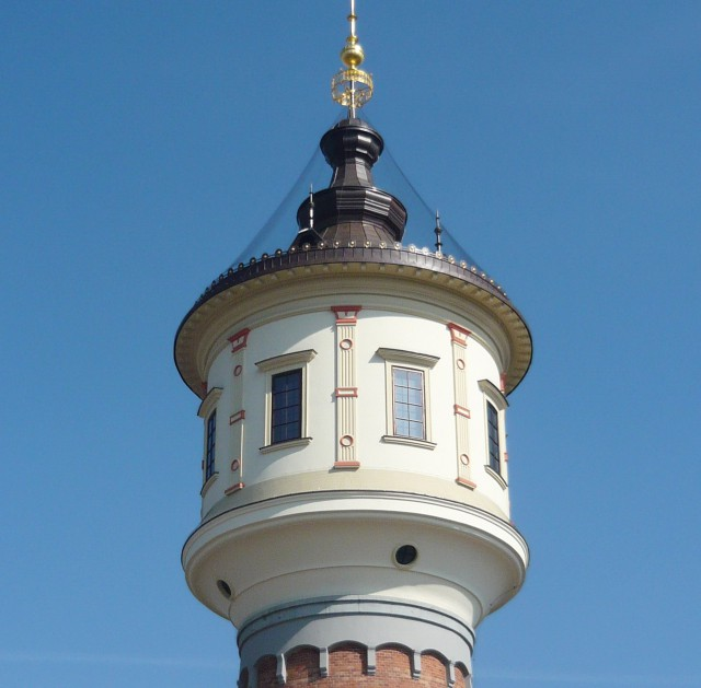 Либеньская водонапорная башня (Libeňská vodárenská věž)